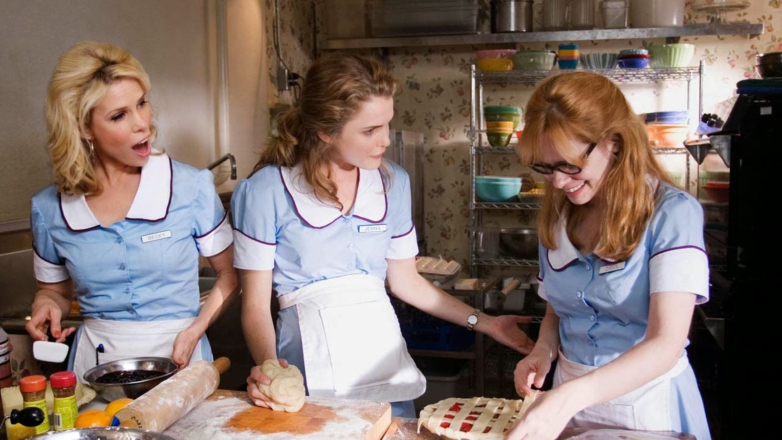 Andrienne Shelly wrote Waitress & co-starred with Keri Russell