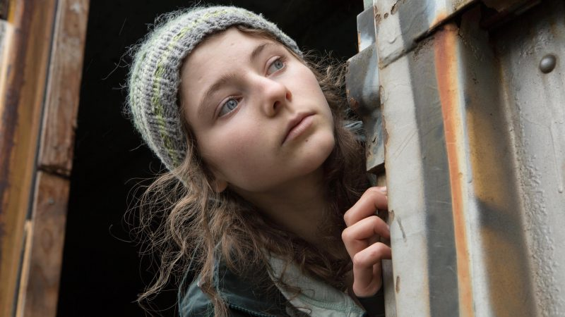 "Image from the movie ""Leave No Trace"" Leave No Trace suffering from PTSD"