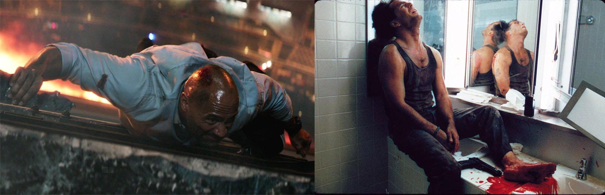 Skyscraper compared Die Hard