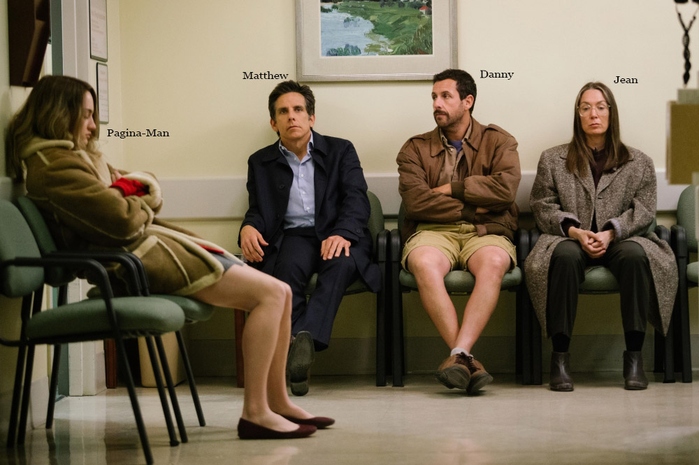 The Meyerowitz Stories (New and Selected) Written & directed by Noah Baumbach