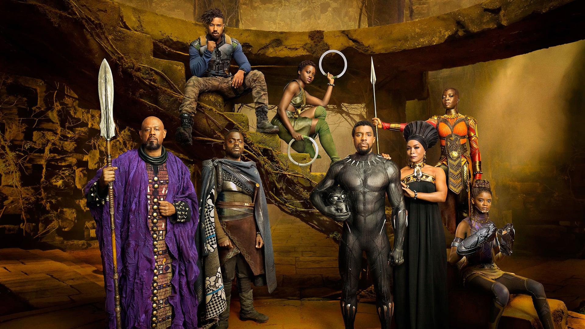 Black Panther Superhero and rule Wakanda