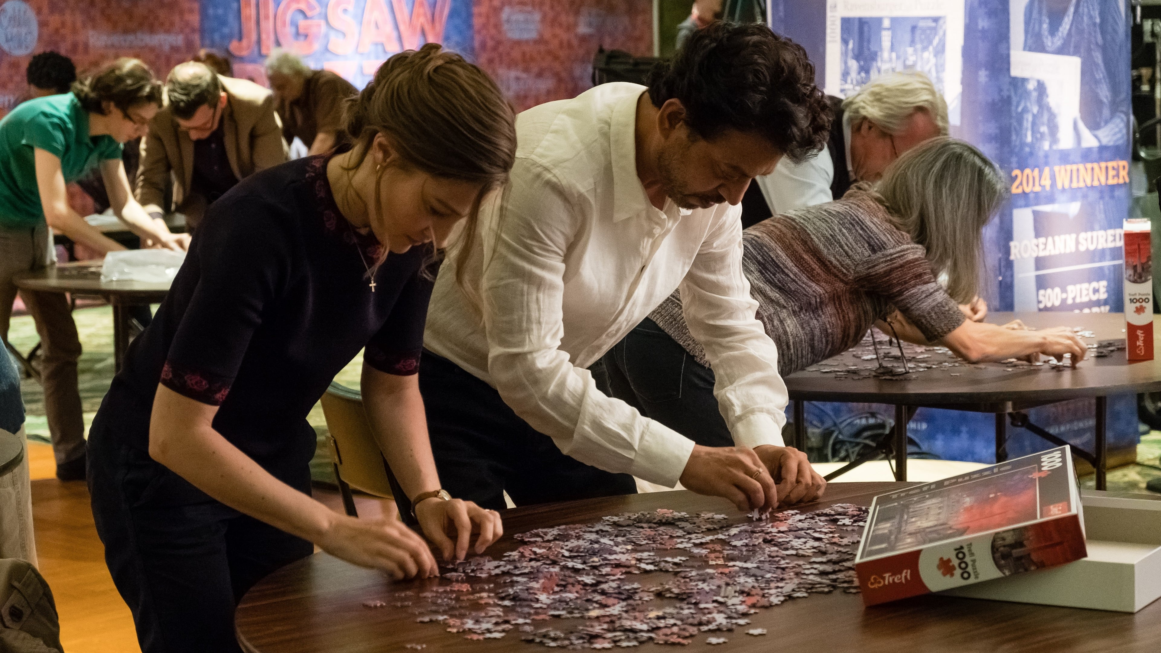 """Image from the movie """"Puzzle"""""""
