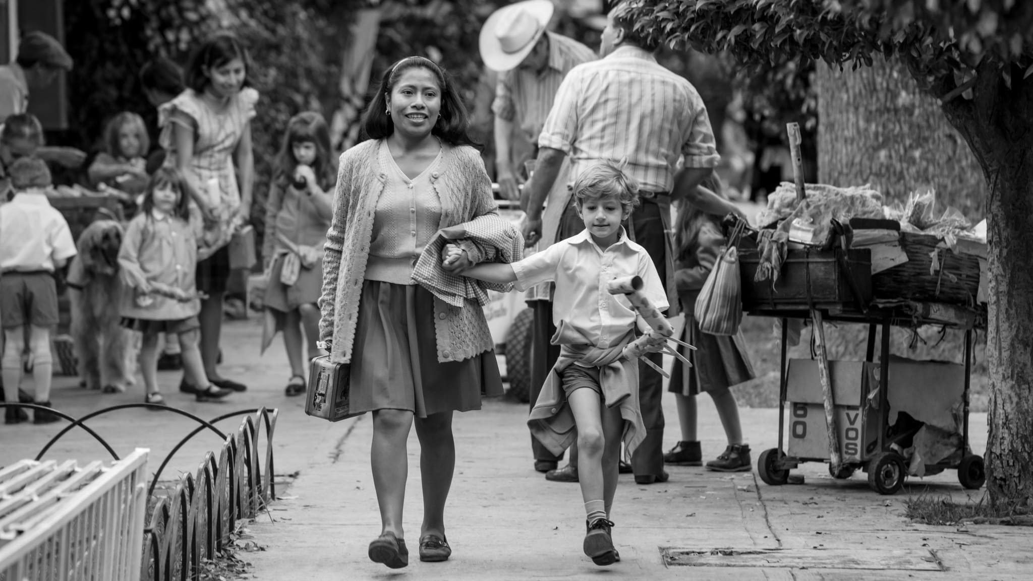 "Image from the movie ""Roma"""