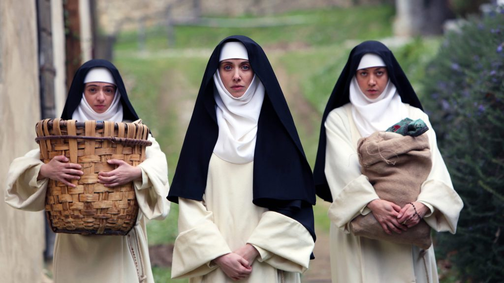 nuns in a Tuscany convent
