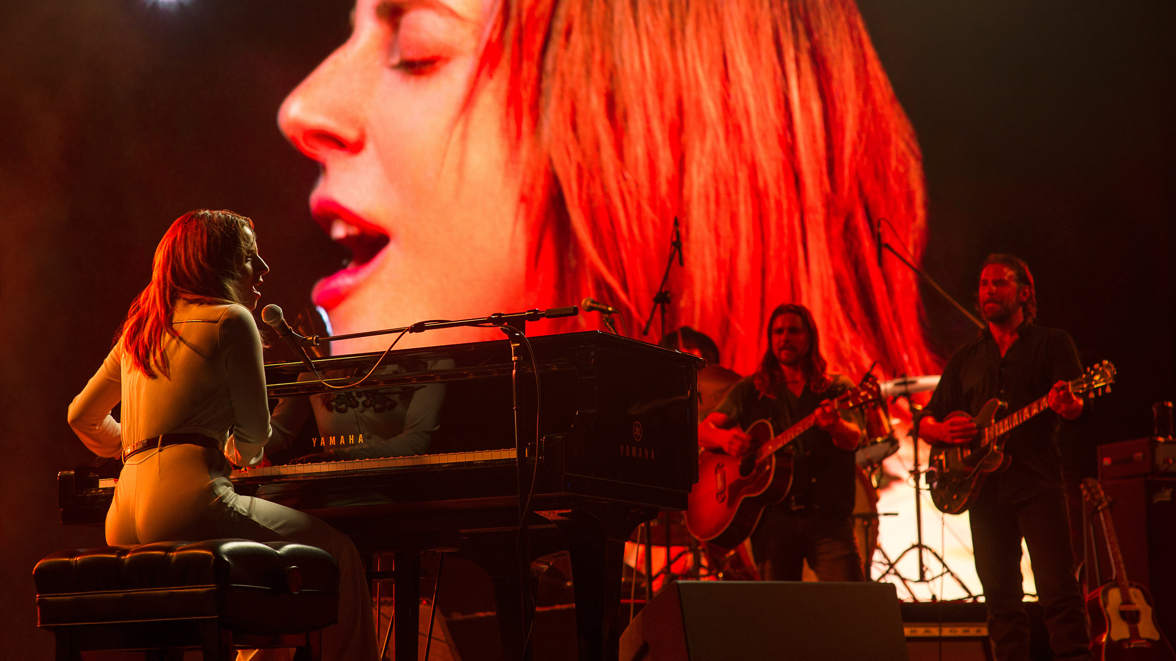 "Image from the movie ""A Star Is Born"""