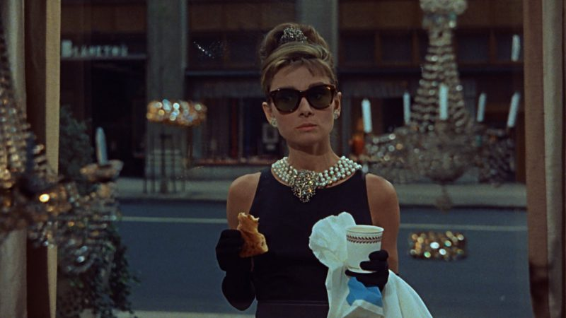 "Image from the movie ""Breakfast at Tiffany's"""