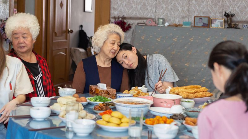 "Image from the movie ""The Farewell"""