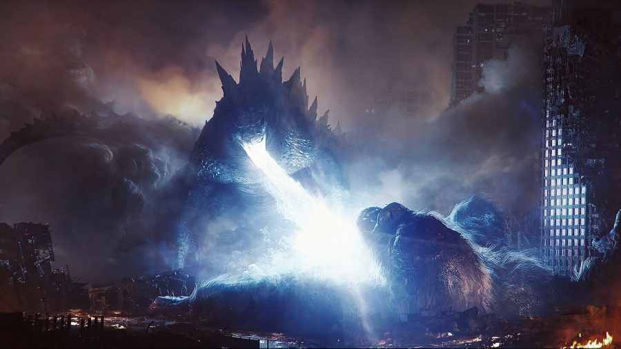 "Image from the movie ""Godzilla vs. Kong"""
